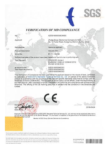 GZES1806009803MD MD VOC CE